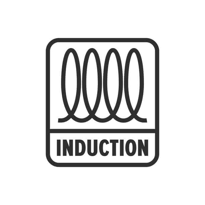induction (cooking) spiral, electrical sign