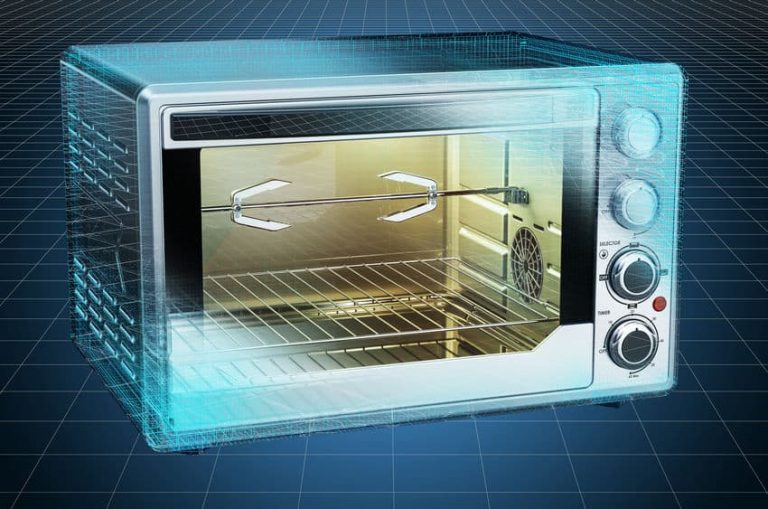 Convection Toaster Oven 3D